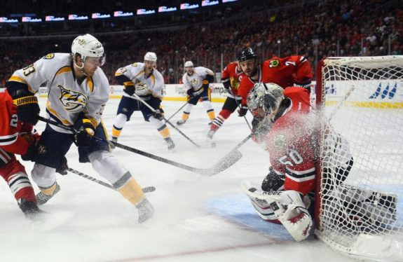 blackhawks, predators