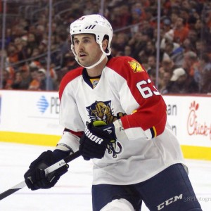 The oft-injured Dave Bolland is now an Arizona Coyote. (Amy Irvin / The Hockey Writers)