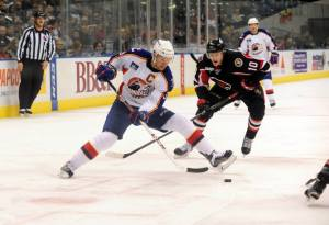 Dave Steckel With The C. Photo Credit: (John Wright/Norfolk Admirals)