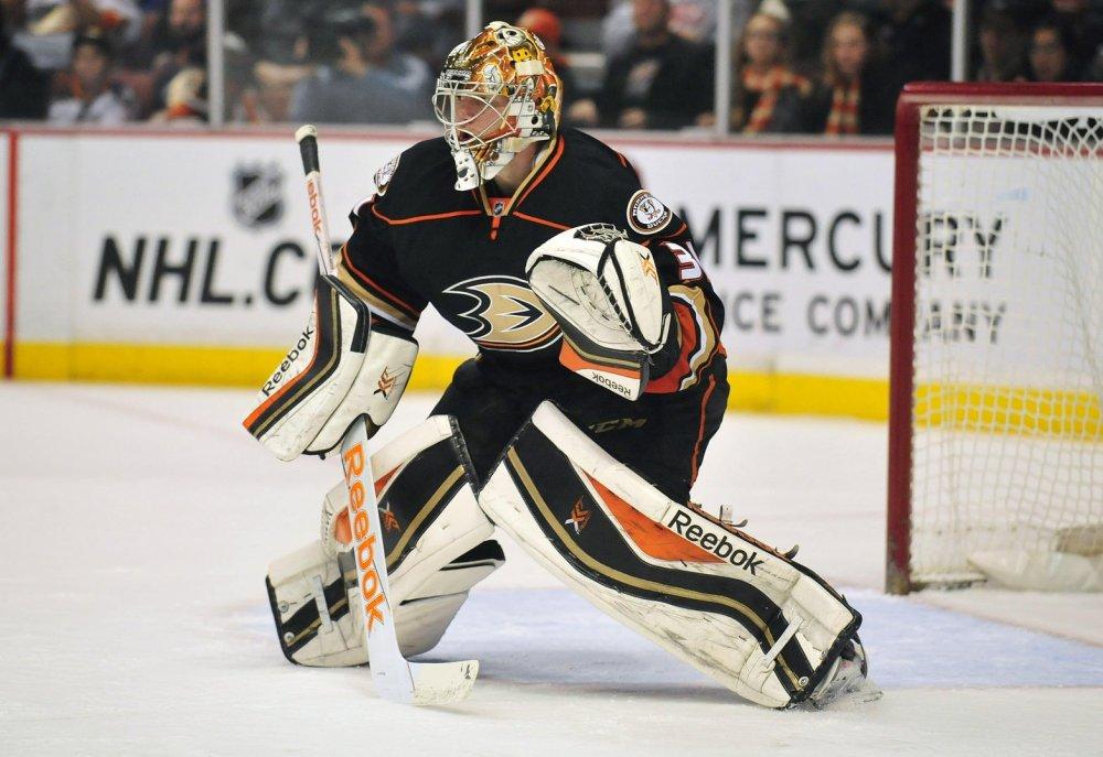 Frederik Andersen, Anaheim Ducks, Fantasy Hockey, NHL