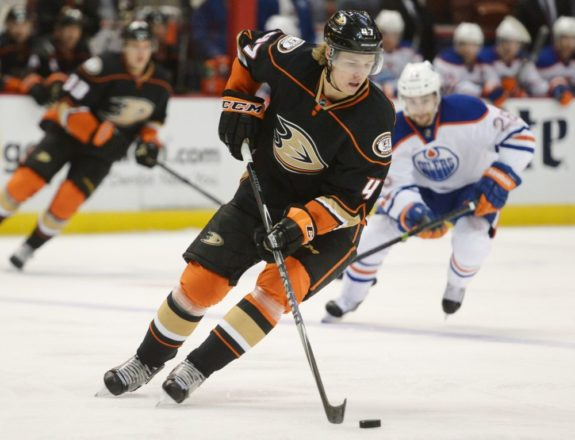 Hampus Lindholm Anaheim Ducks