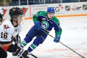 Jake DeBrusk (Credit: Swift Current Broncos)