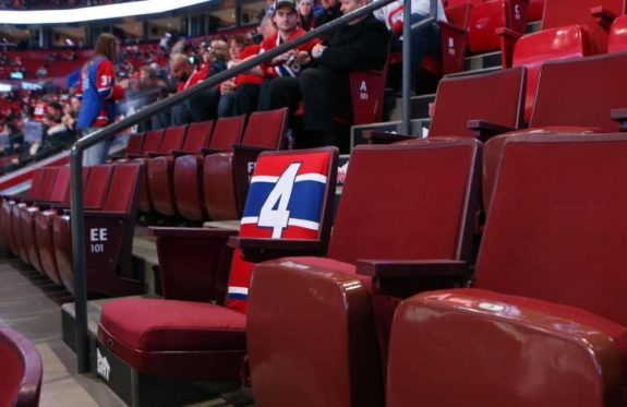 Beliveau seat - Bell Center