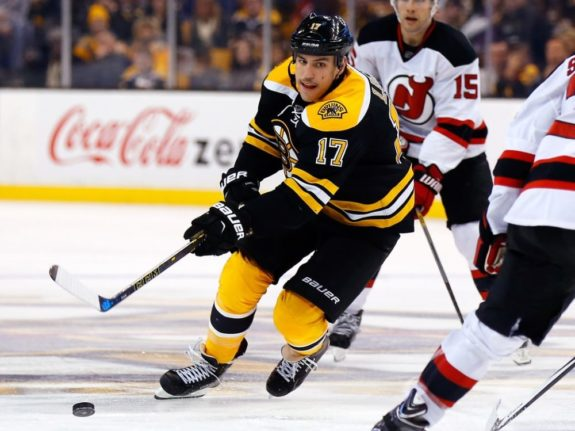Milan Lucic Boston Bruins