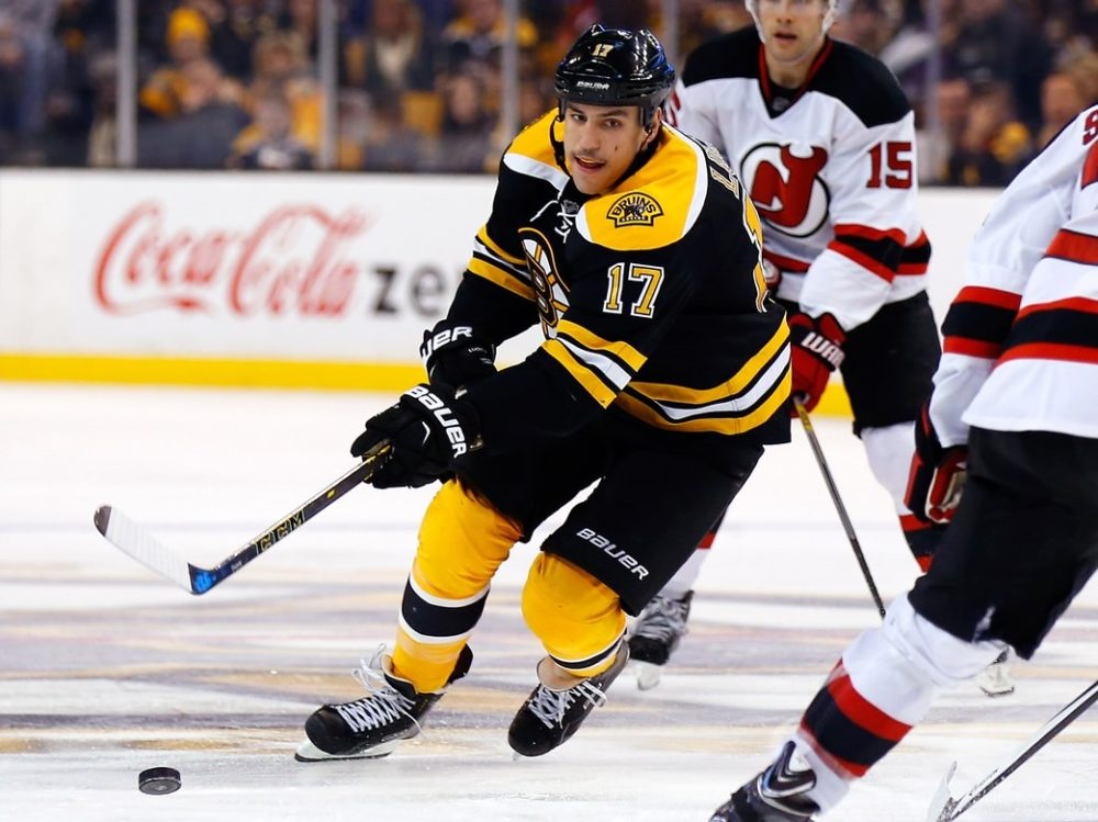 finest selection 617a8 99cda Milan Lucic Traded to Kings, Martin Jones to Bruins