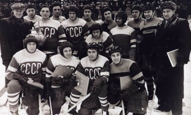 50 Years Ago in Hockey - Russians to Play Pros?  Not Likely