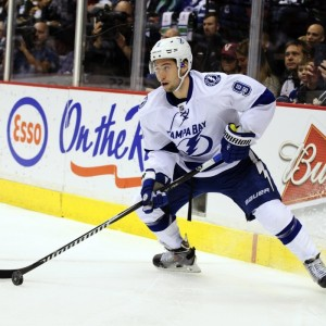 Tyler Johnson of the Tampa Bay Lightning.