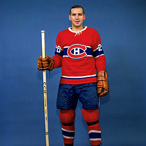 Dave Balon's late goal gave the Habs a comeback win.