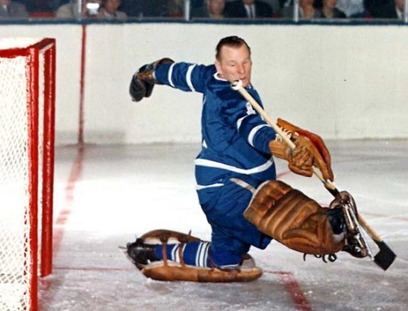 Johnny Bower Toronto Maple Leafs