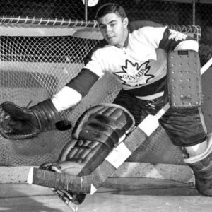Ken Broderick made his pro debut with Vancouver Canucks.