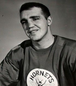 Claude Laforge:  His two goals led Hornets over Indians.