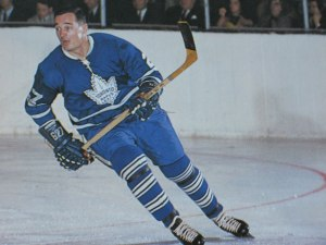 Frank Mahovlich had a goal and an assist for the Leafs.