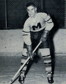 Wayne Mosdell, here with St. Mike's, scored the game winner for the Dukes.