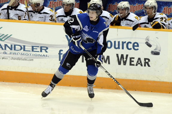 Adam Marsh (David Connell/Saint John Sea Dogs)