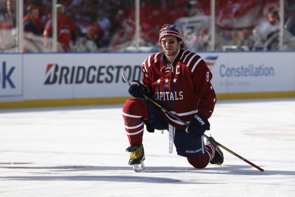Alex Ovechkin has appeared in two Winter Classics (Geoff Burke-USA TODAY Sports)
