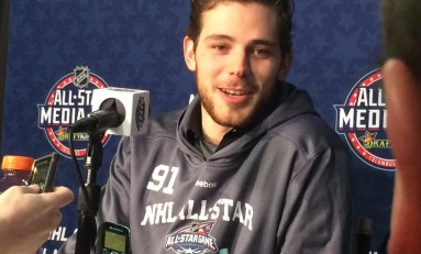 NHL All-Star Media Day: Youth Starting to Become All-Star Favorites