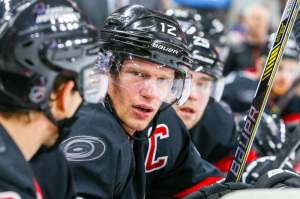 Carolina Hurricanes center Eric Staal  (Photo Credit: Andy Martin Jr)
