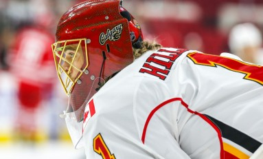 Jonas Hiller Injured in Collision Wednesday