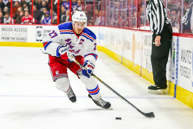 New York Rangers defenseman Ryan McDonagh (27) (Photo Credit: Andy Martin Jr)