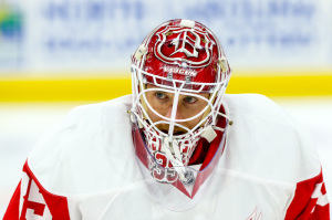Detroit Red Wings goalie Jimmy Howard  (Photo Credit: Andy Martin Jr)