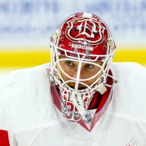 Detroit Red Wings Goaltender Jimmy Howard