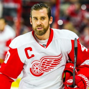 Captain Henrik Zetterberg of the Detroit Red Wings.