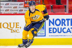 Nashville Predators center Filip Forsberg (Photo Credit: Andy Martin Jr)
