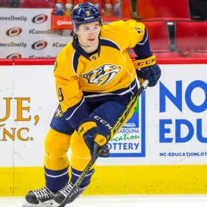 Filip Forsberg signed a six-year, $36 million deal earlier this summer. (Any Martin Jr.)