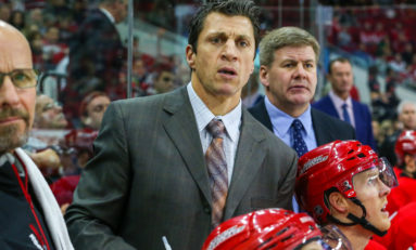 Brind'Amour Sets Tone With Captain Selection