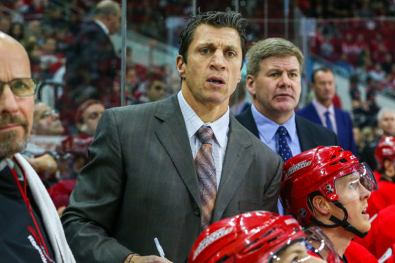 Rod Brind'Amour, Head Coach of the Carolina Hurricanes
