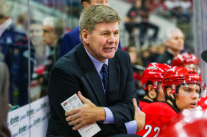 Carolina Hurricanes Head Coach Bill Peters - Photo by Andy Martin Jr
