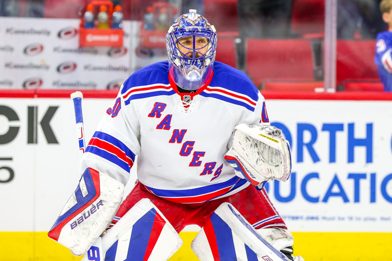 Henrik Lundqvist has posted a sparkling 1.64 GAA and .939 save percentage this postseason (Photo Credit: Andy Martin Jr)