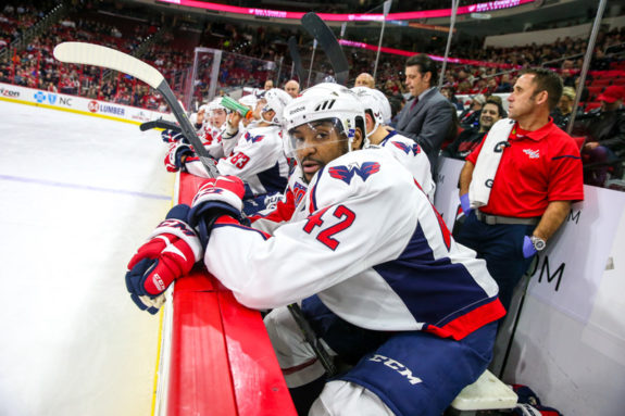 Washington Capitals Joel Ward - Photo by Andy Martin Jr