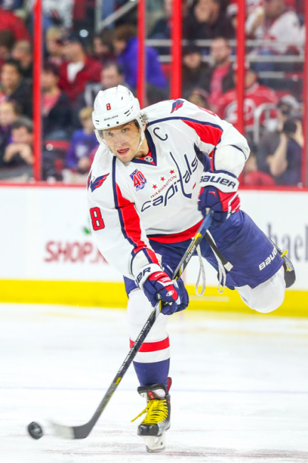 Washington Capitals Alexander Ovechkin - Photo By Andy Martin Jr