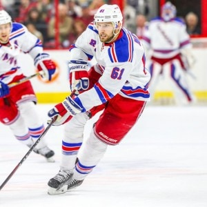New York Rangers left wing Rick Nash (Photo Credit: Andy Martin Jr)