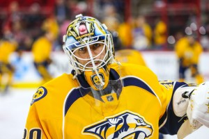Nashville Predators goalie Carter Hutton (Photo Credit: Andy Martin Jr)