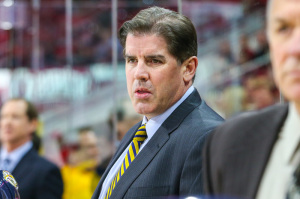 Nashville Predators head coach Peter Laviolette  (Photo Credit: Andy Martin Jr)