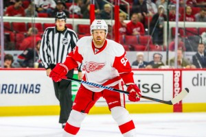 Johan Franzen  (Photo Credit: Andy Martin Jr)