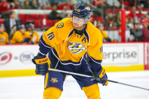 Nashville Predators left wing James Neal  (Photo Credit: Andy Martin Jr)