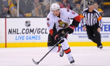 Bobby Ryan Not Fazed by Injured Finger