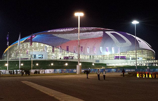 Bolshoy Ice Dome in Sochi, Russia, IIHF, Olympics, Russian Players, Doping