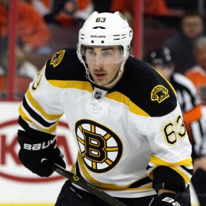 Marchand led all Bruins forwards with 24 goals last season. (Amy Irvin / The Hockey Writers)