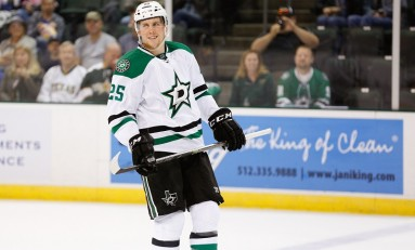 Brett Ritchie Continues Hot Streak in Dallas Stars Debut
