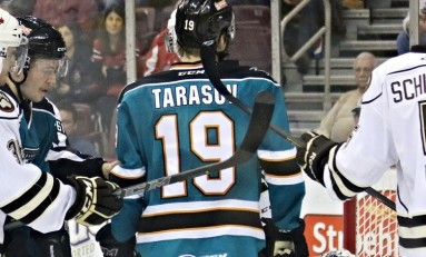 Daniil Tarasov Leaves Sharks, Joins KHL