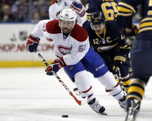 David Desharnais Montreal Canadiens