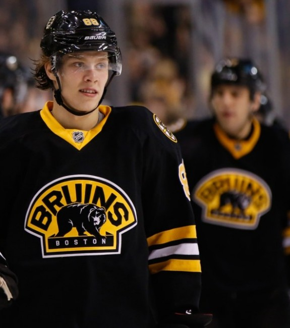 Boston Bruins Line Combos David Pastrnak