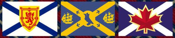 Halifax Highlanders flags [photo: sparky chewbarky]