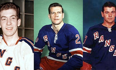 50 Years Ago in Hockey - Rangers French Line Flying High