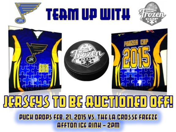 St. Louis Jr. Blues Jerseys