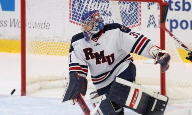 Atlantic Hockey Recap: No.20 Robert Morris Downs Bentley